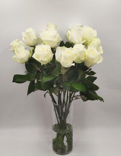 witte rozen bestellen
