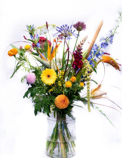 bos bloemen kleur